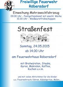 Plakat Straßenfest 2015