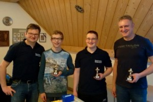 Kickertunier Sieger 2018