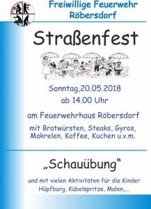 Plakat Straßenfest 2018